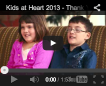 Kids At Heart - Thank you video